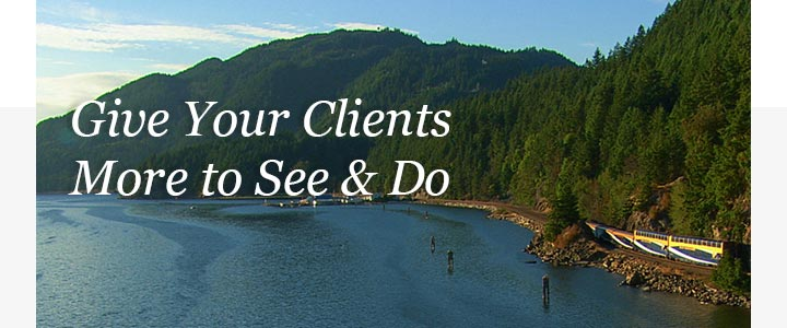 Give your clients more to see and do
