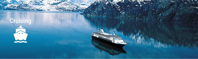 Cruising - Cruise Ship in Alaska