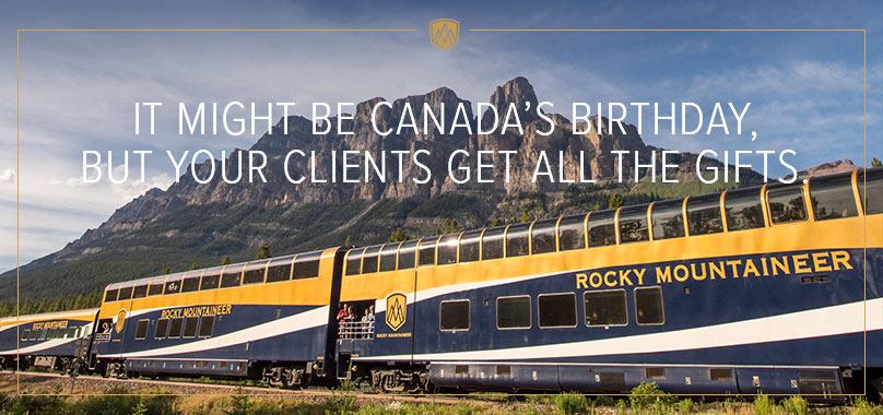 It might be Canada's Birthday, but your clients get all the gifts